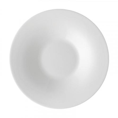 Hutschenreuther Nora weiß Teller tief / Suppenteller 24 cm