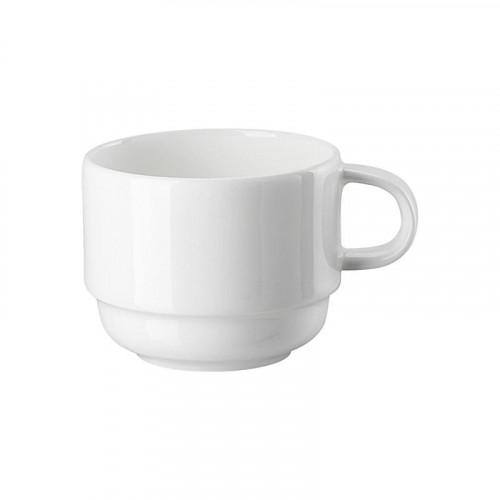 Hutschenreuther Nora weiß Kaffee-Obertasse stapelbar 0,22 L