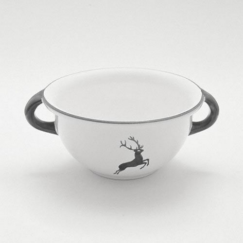 Gmundner Keramik Grauer Hirsch Weitling d: 17 cm / 0,6 L