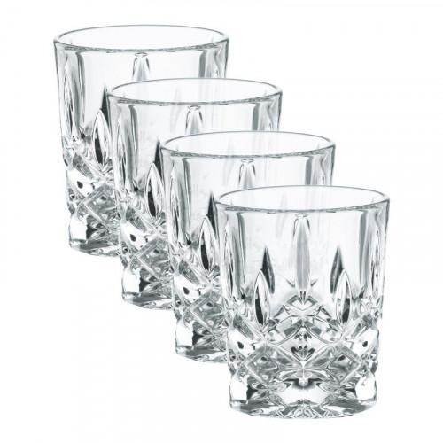 Nachtmann Noblesse Stamper Glas Set 4-tlg. 55 ml / h: 6,1 cm / d: 5 cm