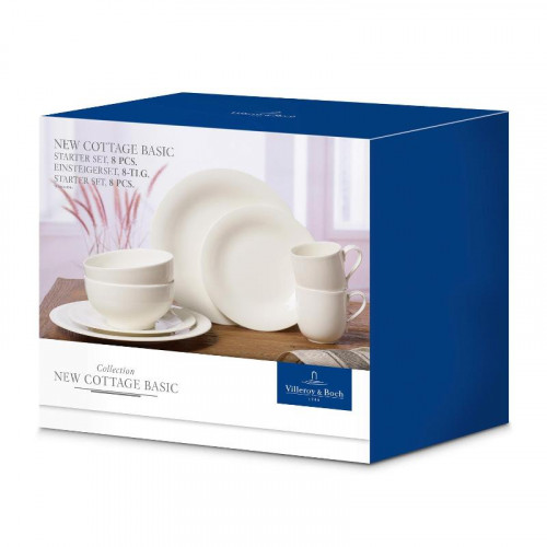 Villeroy & Boch New Cottage Basic Einsteigerset 8-tlg.
