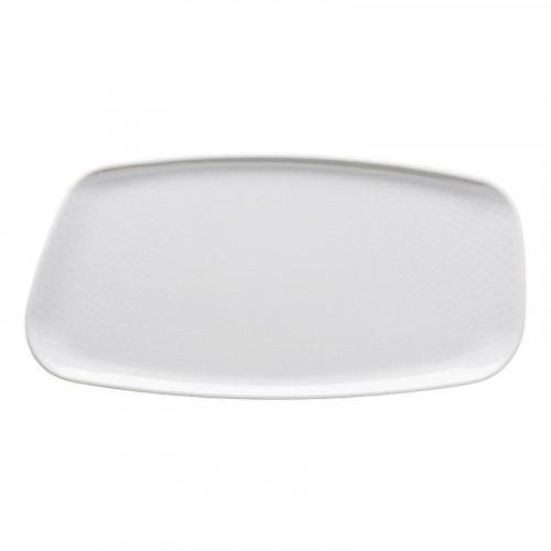 Rosenthal Selection Junto Weiß - Porzellan Platte 30x15 cm