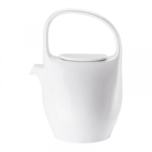 Rosenthal Junto Weiß - Porzellan Teekanne 6 Personen 1,30 L