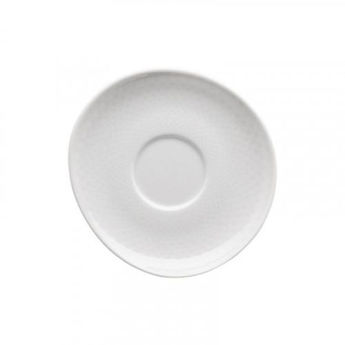 Rosenthal Selection Junto Weiß - Porzellan Espresso-Untertasse 11 cm