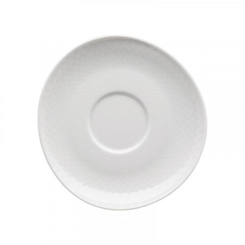 Rosenthal Junto Weiß - Porzellan Kombi-/Kaffee-/Tee-Untertasse 15 cm