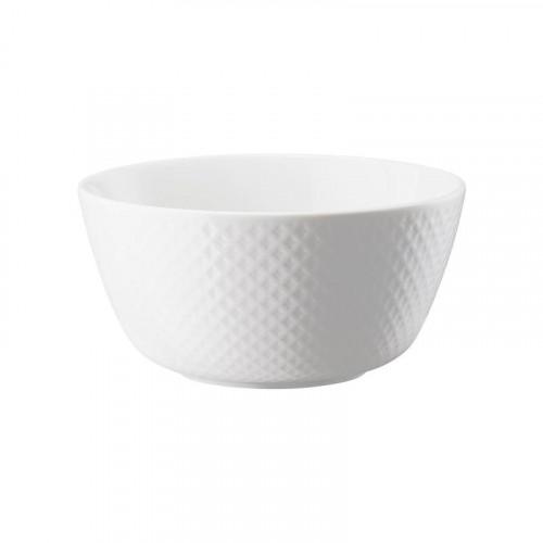 Rosenthal Junto Weiß - Porzellan Müslischale 14 cm / 0,62 L