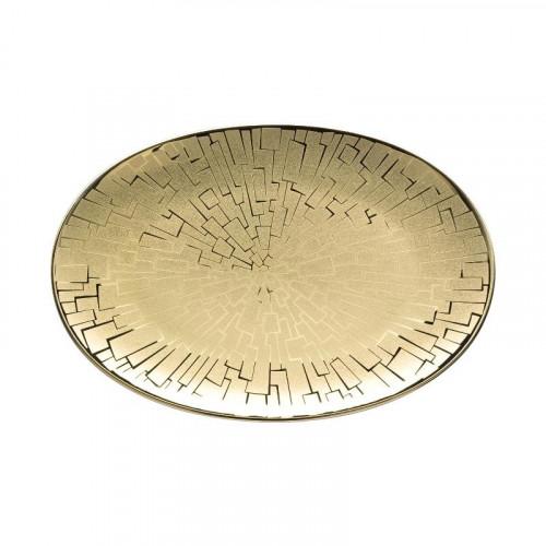 Rosenthal Studio-line TAC Gropius - Skin Gold Platte 18x12 cm