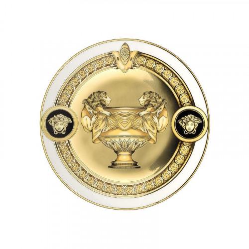 Rosenthal Versace Prestige Gala Teller / Schale flach 10 cm