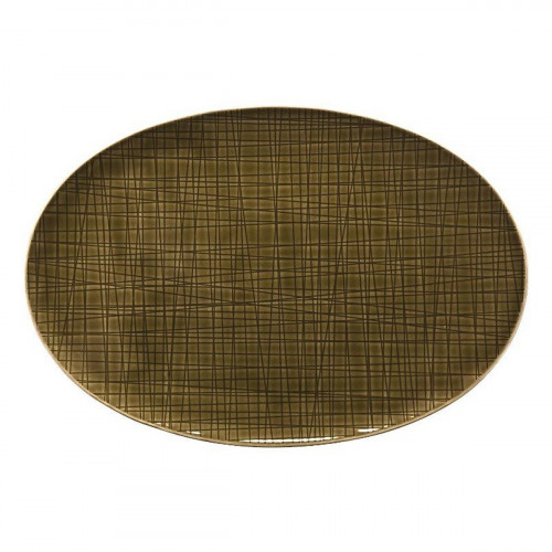 Rosenthal Selection Mesh Walnut Platte 30 cm