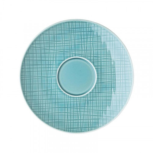 Rosenthal Selection Mesh Aqua Suppen-Untertasse 18 cm