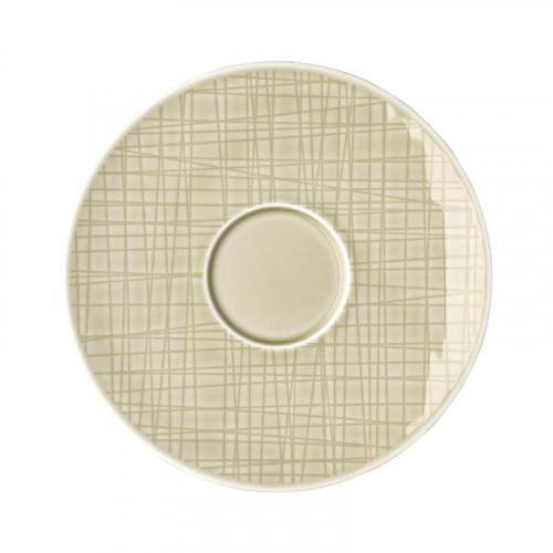 Rosenthal Selection Mesh Cream Kaffee-/Tee-/Kombi-Untertasse 16 cm