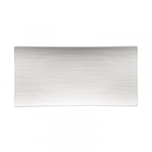 Rosenthal Selection Mesh weiss Platte flach 26x13 cm
