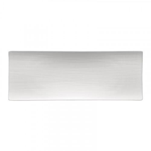 Rosenthal Selection Mesh weiss Platte flach 34x13 cm