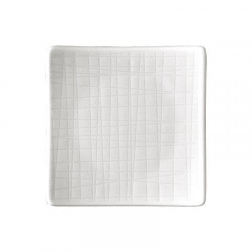 Rosenthal Selection Mesh weiss Teller quadratisch flach 9 cm
