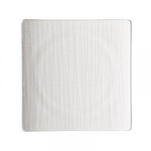 Rosenthal Selection Mesh weiss Teller quadratisch flach 17 cm