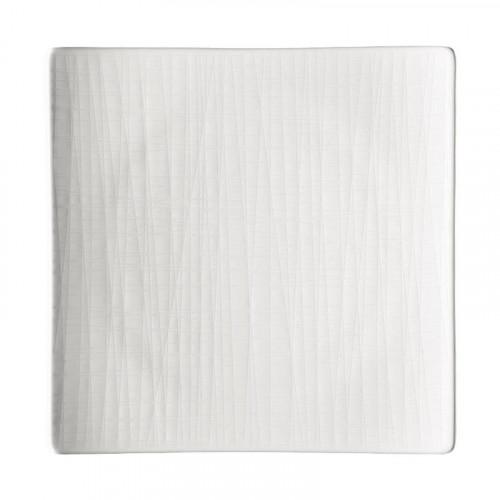 Rosenthal Selection Mesh weiss Teller quadratisch flach 22 cm