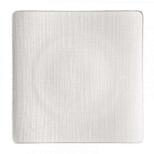 Rosenthal Selection Mesh weiss Teller quadratisch flach 31 cm