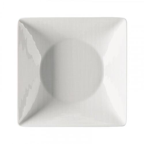 Rosenthal Selection Mesh weiss Teller quadratisch tief 20 cm