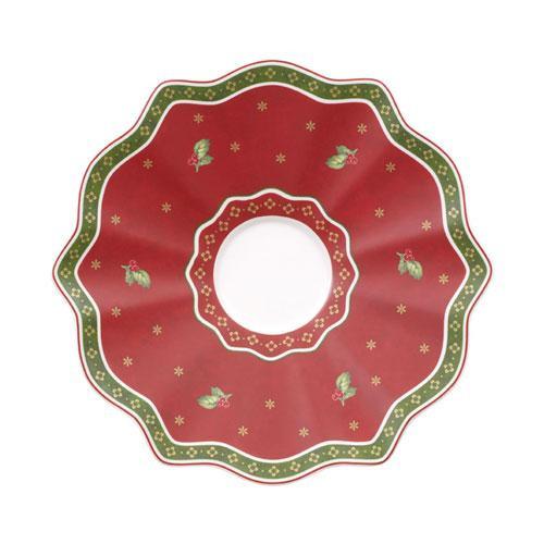 Villeroy & Boch Toy's Delight Kaffee-/Tee-Untertasse rot 17 cm