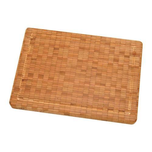 Zwilling Messerzubehör Schneidbrett Bambus Holz mittel 355 x 30 x 250 mm