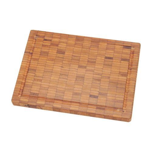 Zwilling Messerzubehör Schneidbrett Bambus Holz klein 250 x 20 x 185 mm