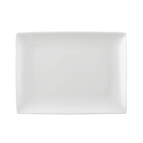 Rosenthal Selection Jade weiss Platte eckig 25 x 19 cm
