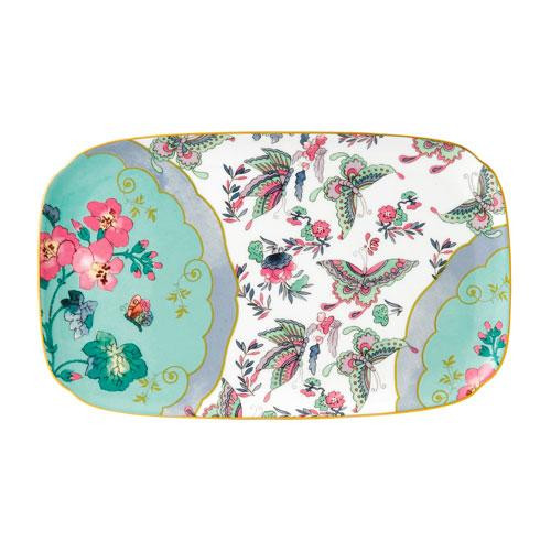 Wedgwood  'Butterfly Bloom' Sandwich-/Gebäckplatte Blue Peony