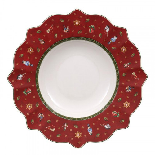 Villeroy & Boch  'Toy's Delight' Suppenteller Rot 26 cm