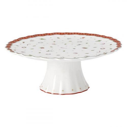 Villeroy & Boch Toy s Delight Kuchenplatte auf Fuß groß 28 cm