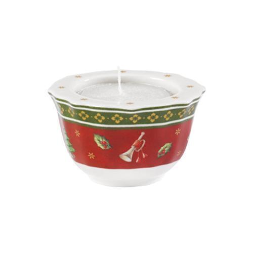 Villeroy & Boch  'Toy's Delight' Teelichthalter rot 4 cm
