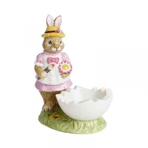 Villeroy & Boch Bunny Tales Eierbecher Hase Anna 9x5,5x10 cm