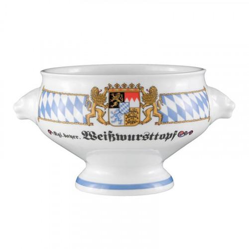 Seltmann Weiden Compact Bayern Löwenkopfterrine o. De. 'Weisswursttopf' 1,0 L