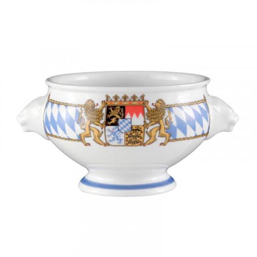 Seltmann Weiden Compact Bayern Löwenkopfterrine o. De. 'Weisswursttopf' 0,5 L