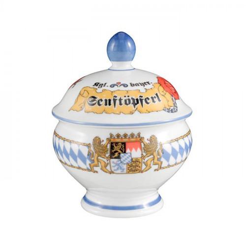 Seltmann Weiden Compact Bayern Senftopf 'Senftöpferl' 0,18 L