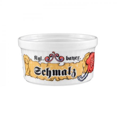 Seltmann Weiden Compact Bayern Pastetennapf 'Schmalz' 9 cm