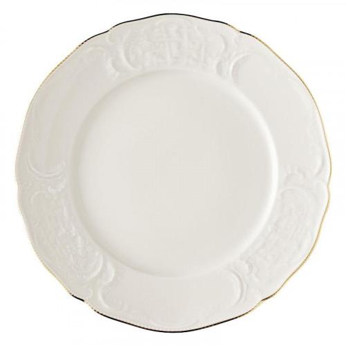 Rosenthal Selection Sanssouci Elfenbein Gold Platzteller / Platte rund flach 31 cm