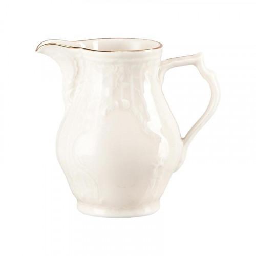 Rosenthal Selection Sanssouci Elfenbein Gold Milchkännchen 6 Personen 0,19 L