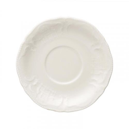 Rosenthal Selection Sanssouci Elfenbein Suppen-Untertasse 17,5 cm