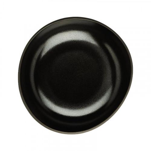 Rosenthal Junto Slate Grey - Steinzeug Teller tief 17 cm