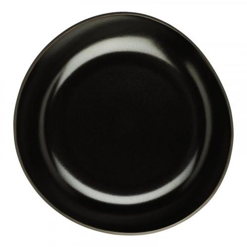 Rosenthal Junto Slate Grey - Steinzeug Teller tief 28 cm