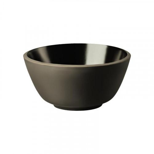 Rosenthal Junto Slate Grey - Steinzeug Müslischale 14 cm / 0,62 L