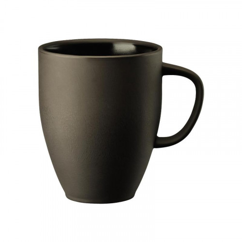 Rosenthal Junto Slate Grey - Steinzeug Becher mit Henkel 0,38 L