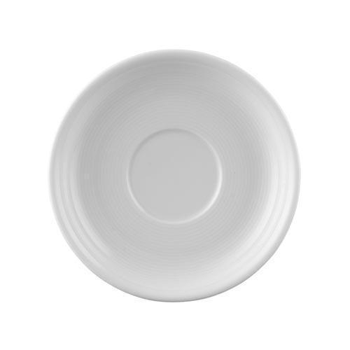 Thomas Trend weiß Frühstücks-/Cappuccino-/Bouillon-Untertasse 16 cm