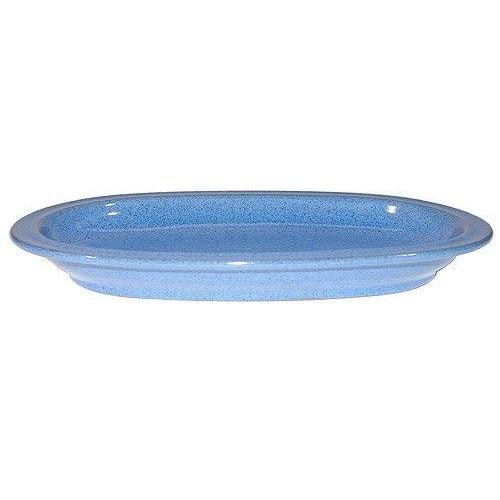 Friesland Ammerland Blue Platte oval / Unterteil Sauciere 24 cm