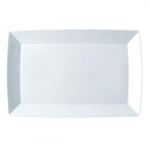 Thomas Loft weiß / Trend Asia weiß Platte / Teller eckig 18,5x13,5 cm