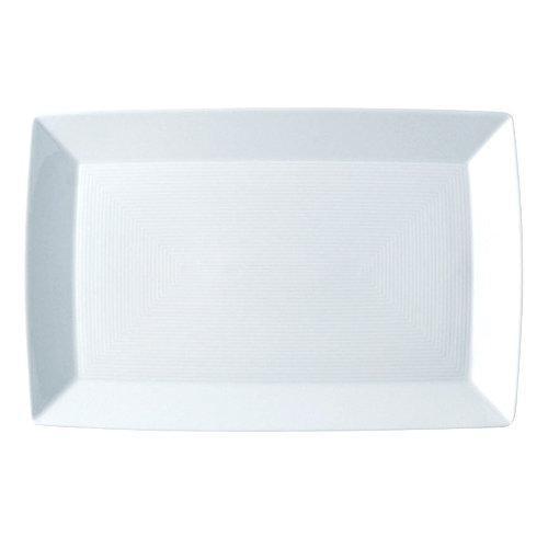 Thomas Loft weiß / Trend Asia weiß Platte eckig 28,5x18,5 cm