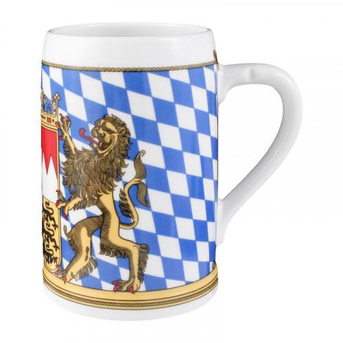 Seltmann Weiden Compact Bayern Bierkrug ohne Deckel 0,75 L