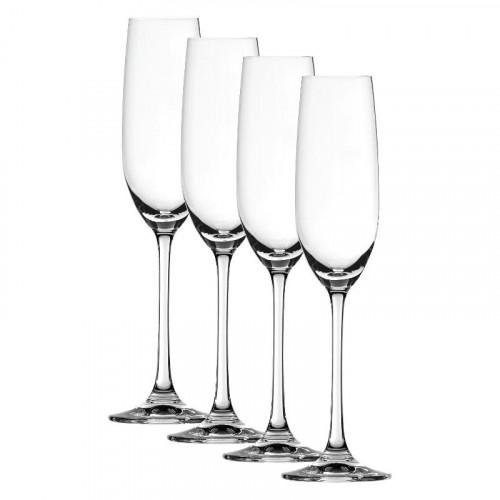 Spiegelau Gläser Salute Champagner Glas Set 4-tlg. 210 ml