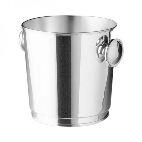 Robbe & Berking Tafelgeräte 925 Sterling Silber Champagnerkühler mit Griffen d: 20 cm / h: 20 cm