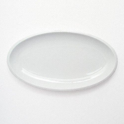Friesland Ecco weiss Platte oval / Untere Sauciere 26x14,5 cm